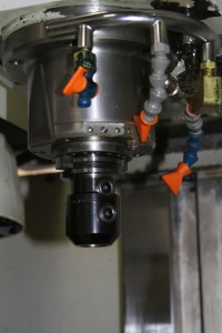 Vertical CNC Mill Spindle