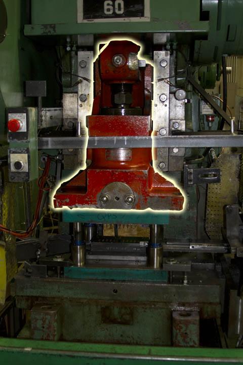 Punch Press Ram.