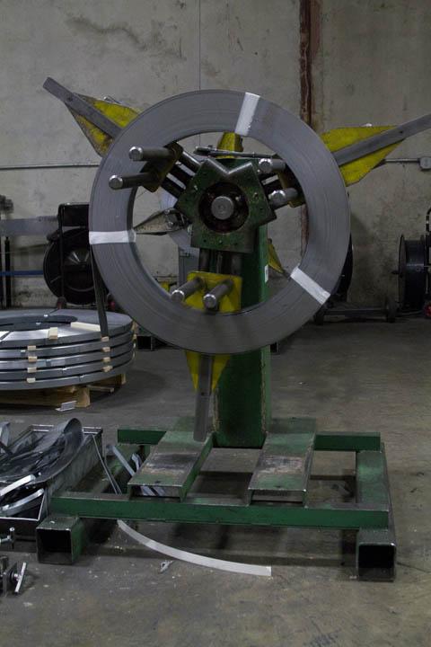 Standard Reel Un-Coiler